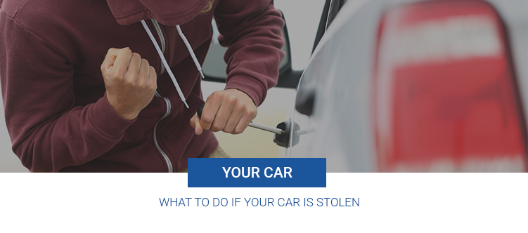 What to do if your car is stolen